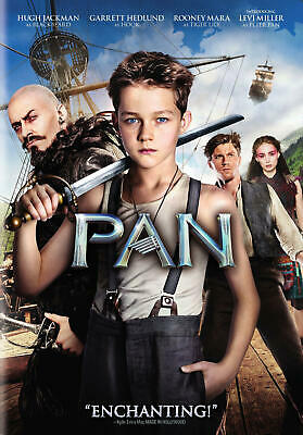 Pan (DVD, 2015) NEW