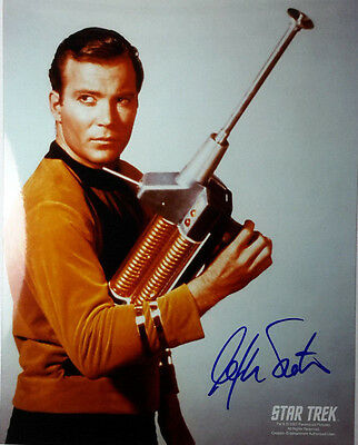 Star Trek Autograph 8x10 Photo Signed by William Shatner-  (LHAU-422)