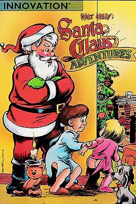 WALT KELLY SANTA CLAUS ADVENTURES  (1940s) VOL 1 NUMBER 1 1990 INNOVATION BOOKS