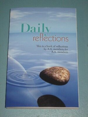 Daily Reflections Aa Members 2018 Alcohol Addiction Large Print New Freeship