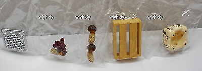 Dollhouse Miniatures Seperate Set Local Delivery - Mushroom  ~ Re-ment  h#4