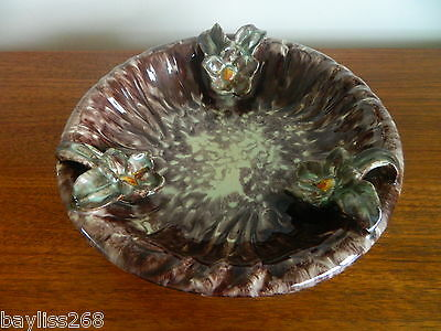 Stunning Iconic Large West German Pottery Bowl 60's/70's