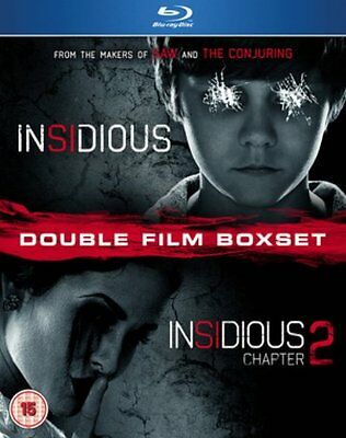 Insidious 1 and 2 - Sealed NEW Blu-ray