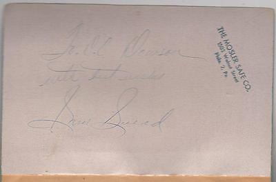 Sam Snead's Natural Golf - Dell Paperback, 1954 - Signed by Sam Snead
