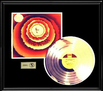 Stevie Wonder Songs In The Key Of Life Rare Gold Record Platinum  Disc Lp