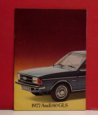 1977 Audi 80 GLS Sales Brochure - South African Market