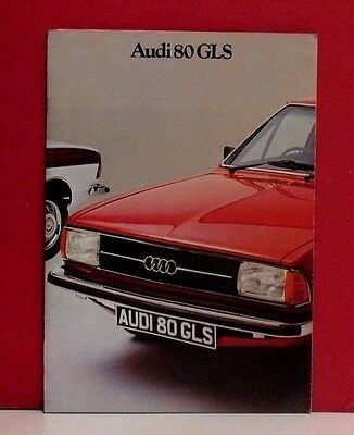 1977 Audi 80 GLS Sales Brochure - South African Market - 2