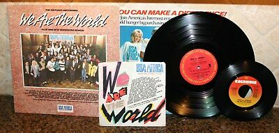 vintage 1985 We Are The World Vinyl LP PRINCE 4 The Tears In Your Eyes