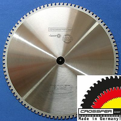 Sägeblatt METALLE EISEN 355x30mm Z80 WWF *MADE IN GERMANY* für Dry Cutter Jepson