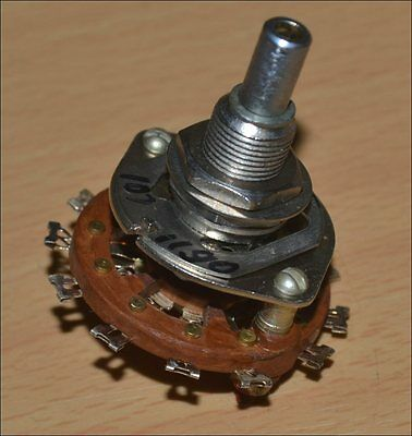 3-Pole 3-Throw 3P3T ROTARY switch