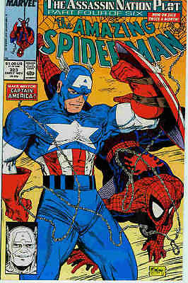 Amazing Spiderman # 323 (Todd McFarlane) (USA,1989)