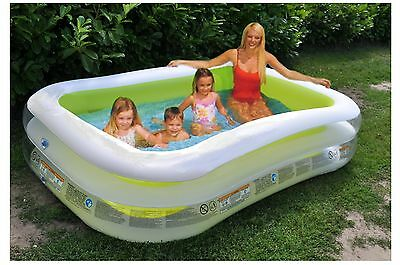 Intex Familienpool Swimmingpool Planschbecken Kinderpool Gartenpool Swim Center