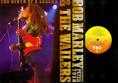 LP- Bob Marley & The Wailers Featuring Peter Tosh ‎– The Birth Of A Legend //UK/