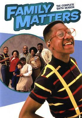 Family Matters: The Complete Sixth Season New DVD
