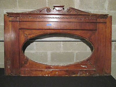 ~ Antique Overmantel Mantel Top 60 X 38 ~ Architectural Salvage ~