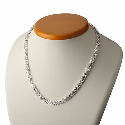 Ladies Byzantine Sterling Silver Necklace 925 Hallmarked Sterling Silver Boxed