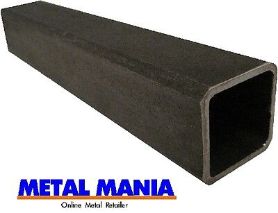 Steel box section 80mm x 80mm x 3mm x 2500mm square hollow section