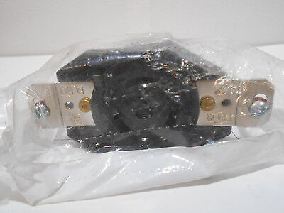 NEW HUBBELL L620R locking Receptacle 20a 250vac nema 2 pole 3 wire ground