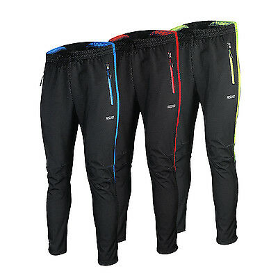 Mens Windproof Waterproof Gel Padded Bicycle Cycling Pants Winter Bike Trousers