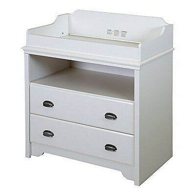 South Shore Fundy Tide Changing Table, Pure White