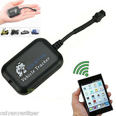 Mini Vehicle GSM GPRS GPS Tracker Car Vehicle Real Time Network Locator Device