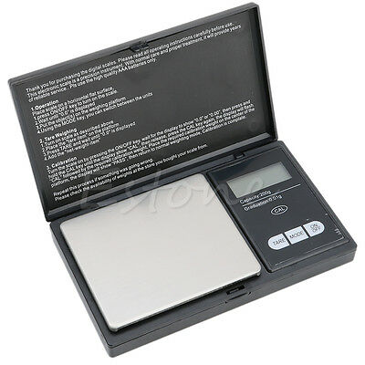 Electronic 200g / 0.01g  Pocket Jewelry Digital Scale Silver Diamond Weight LCD