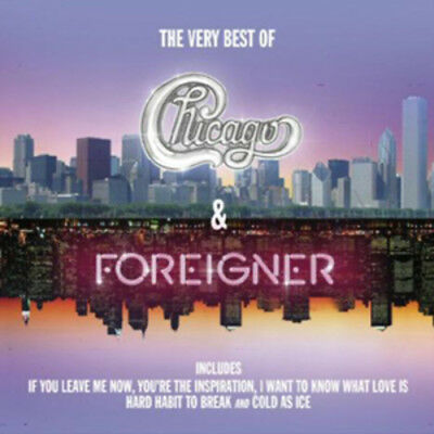 Foreigner The Very Best Of Chicago & Foreigner CD ***NEW***