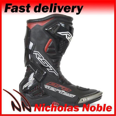 RST Pro Series 1503 Black CE Certified Sports Pro Race Boots