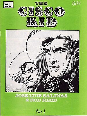 The Cisco Kid Number 1 March 1973 Menomonee Falls Gazette Reprints Jan-Mar 1951