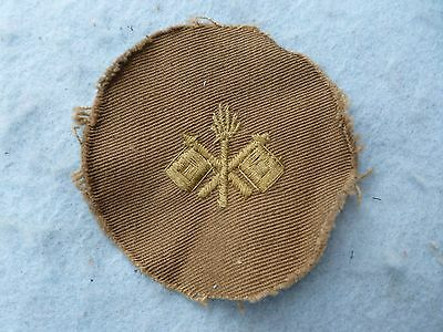WWI Army Rank Insignia Private 1st Class Signal Corps WW1
