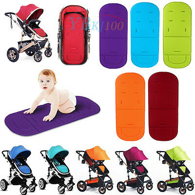 Washable Baby Trolley Stroller Pram Pushchair Seat Soft Liner Pad Cushion Mat