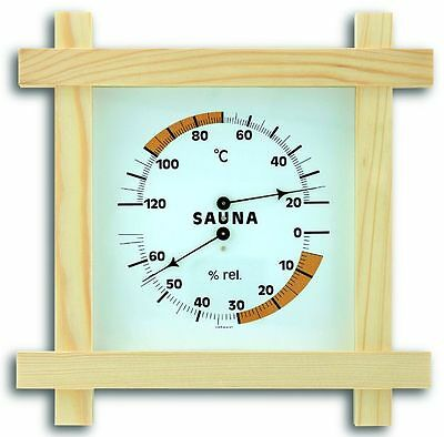 Sauna Meter Tfa 40.1008 Thermometer Hygrometer Hair Synthetic Measuring Element