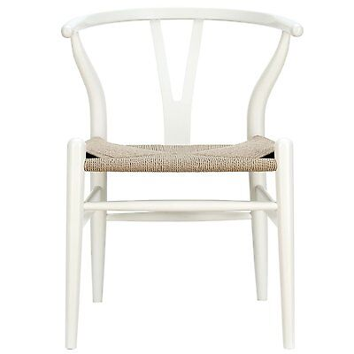 Modway Furniture Amish Wooden Dining Chair White - EEI-552-WHI Chair NEW