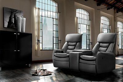2er kinosessel schwarz mit relaxfunktion relaxsessel tv sessel heimkino kino eur 575 00. Black Bedroom Furniture Sets. Home Design Ideas