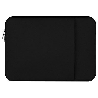 Black Laptop Sleeve Soft Carry Bag Case For 13.3 inch Apple Macbook Pro Retina