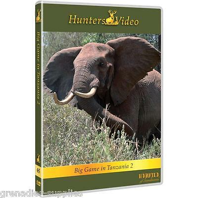 Big Game In Tanzania Hunters Video Hunting Dvd
