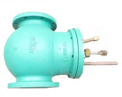 Keckley 8 In Iron Flanged Globe Valve D525131