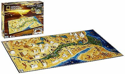 Ancient Egypt: 4D Cityscape Time National Geographic Jigsaw Puzzle 600 pieces 7+