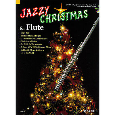 Schott Jazzy Christmas for Flute - plus CD
