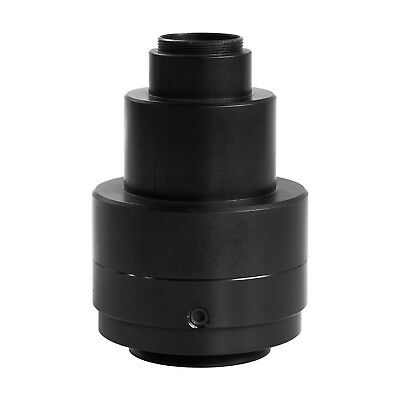 AmScope 1X C-mount Camera Adapter with Lens for Olympus Microscopes