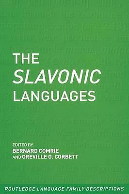 The Slavonic Languages by Bernard Comrie (English) Paperback Book Free Shipping!