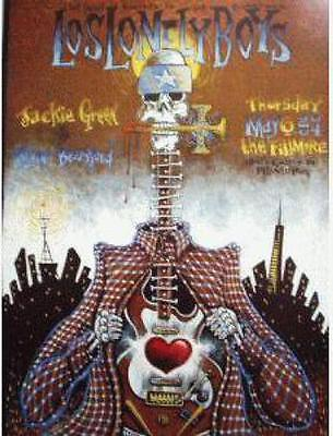 Los Lonely Boys Fillmore 2004 Bgf617 Concert Poster Original