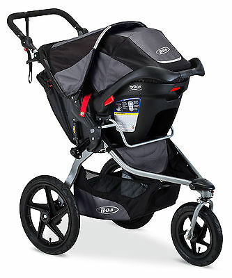 BOB 2016 Revolution Flex Stroller Travel System Black + B-Safe 35 Car Seat!