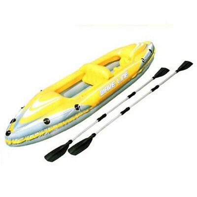 Double Kayak Rubber Dinghy Sea Touring Folding Boat New