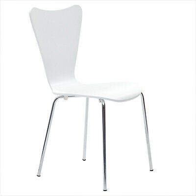 Modway Furniture Ernie Dining Chair in White EEI-537-WHI Chair NEW