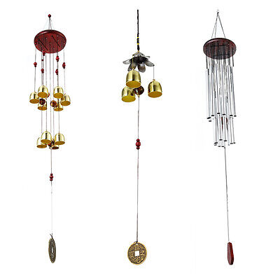 New Windchimes 27 Tube 10 Bell Hanging Wind Chimes Outdoor Garden Ornament Decor