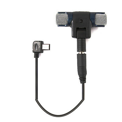 PRO 3.5mm External Microphone Mic & Adapter Cable For GOPRO HERO HD 3 3+4 Camera