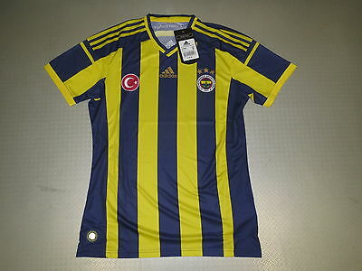 Jersey Fenerbahce Istanbul Home 14/15 Orig Adidas Size XS S M L XL new