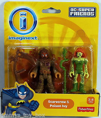 Fisher-Price Imaginext DC Super Friends - Scarecrow & Poison Ivy