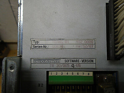 Indramat  Controller Trans-01 M02.0000  Software TR 30/005.4 US   W12